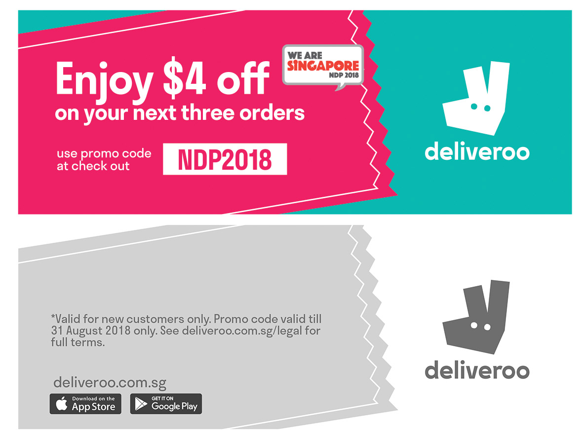 Deliveroo - NDP 2018 - Greendot Media