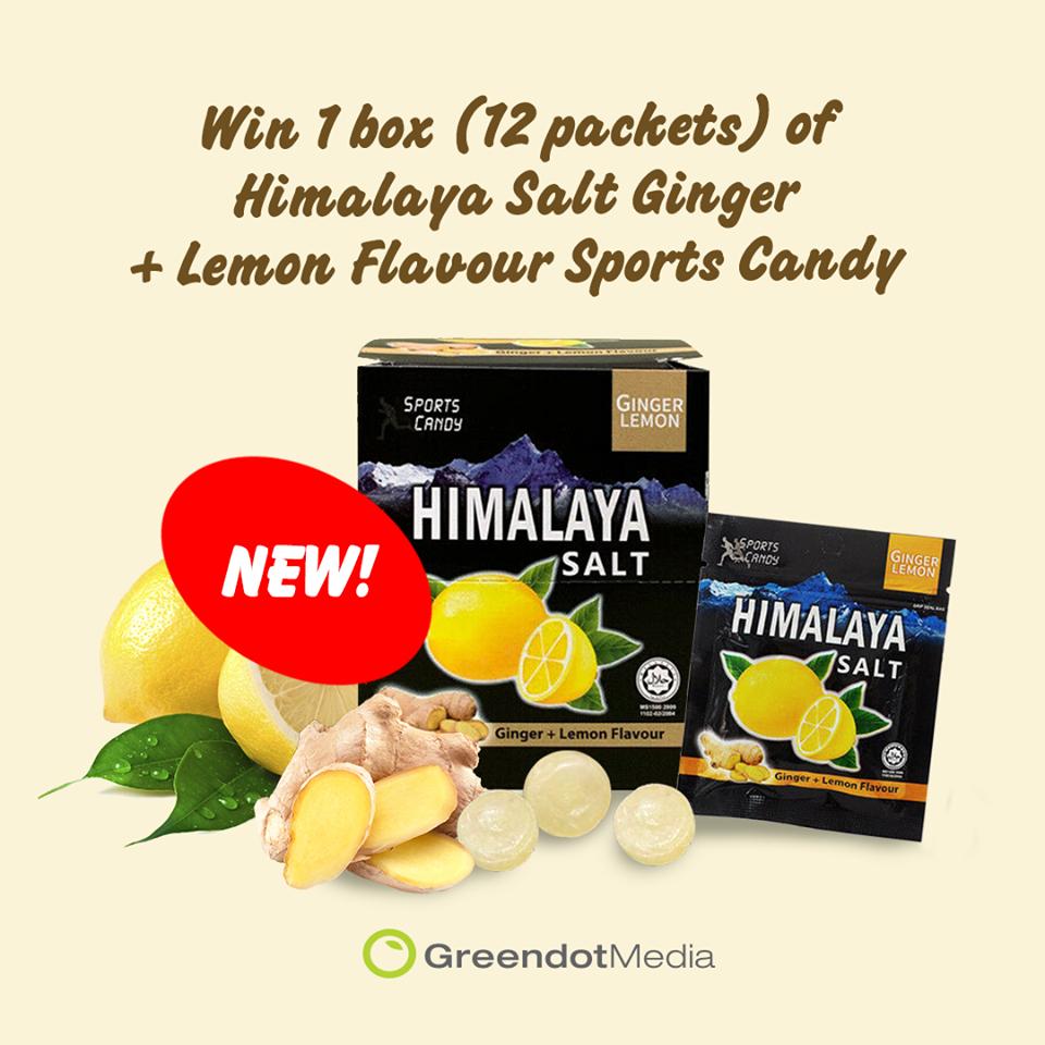 Himalaya Salt Ginger
